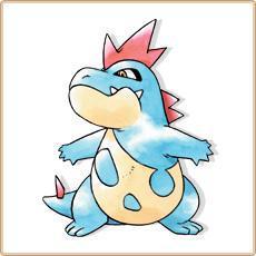 Crocodile pokemon evolution - Pokemon wattouat ...
